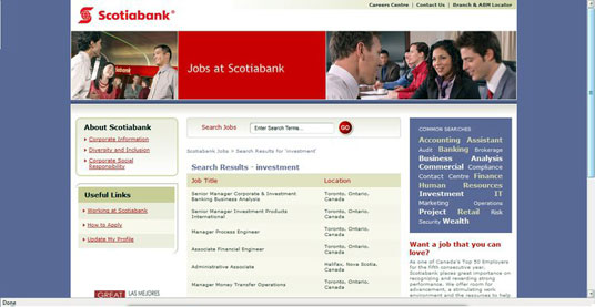Marc Borins Print Scotia Bank Ad