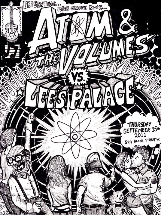 Atom and The Volumes vs Lees Palace