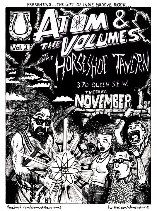 November 1st at The Horseshoe Tavern